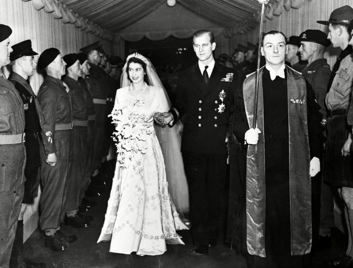 Britain's Princess Elizabeth and her husband the Duke of Edinburgh wedding