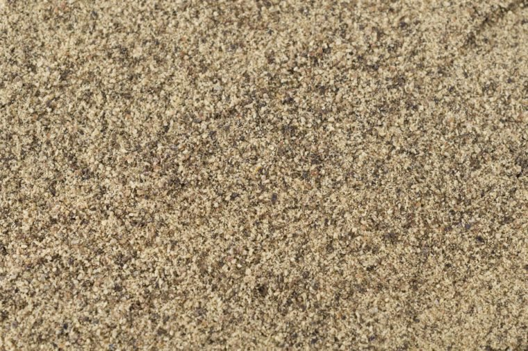 Ground black pepper background