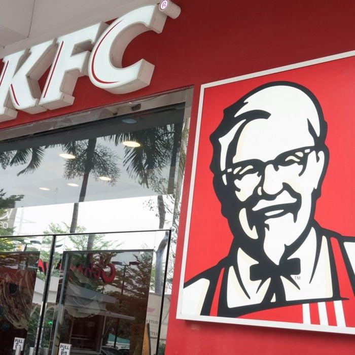 KFC fast food restaurant.