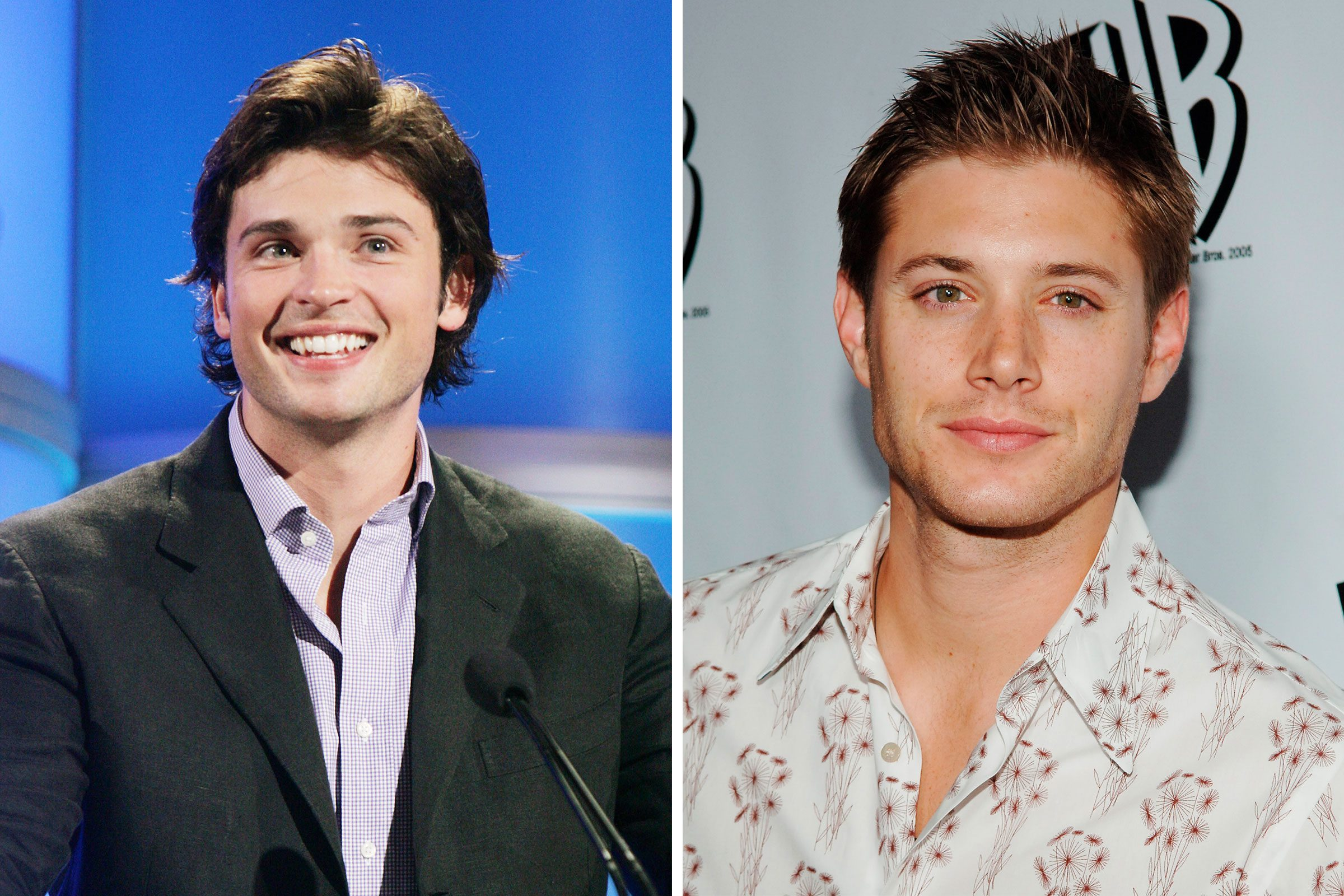 smallville tom welling next to jensen ackles