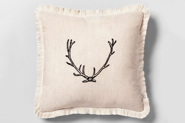Throw Pillow - Antler - Hearth & Hand™ with Magnolia