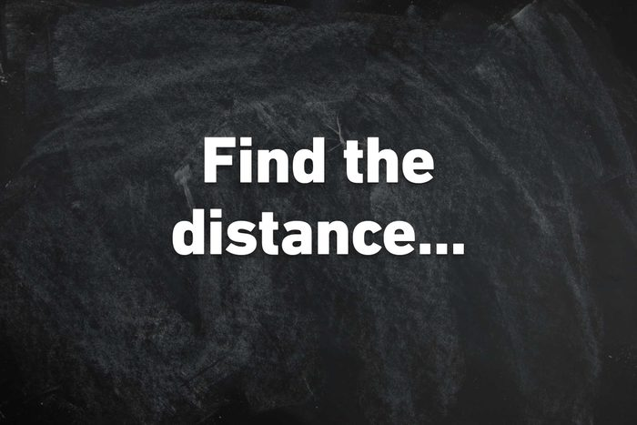 find the distance
