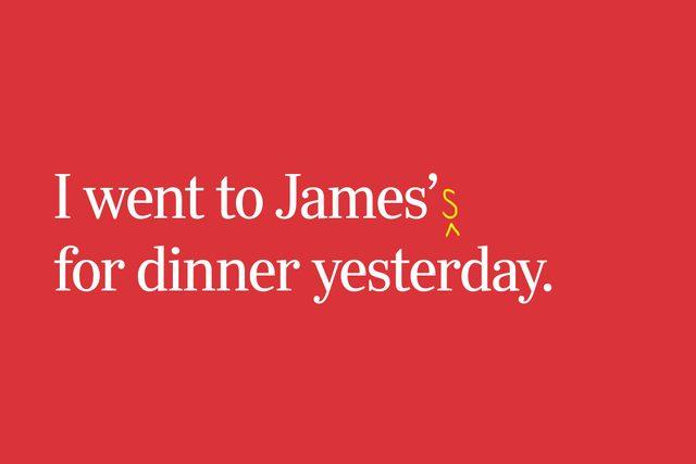 James' vs. James's