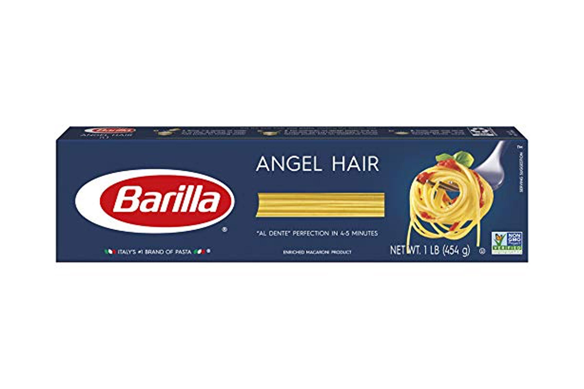 Barilla Pasta, Angel Hair, 16 Ounce
