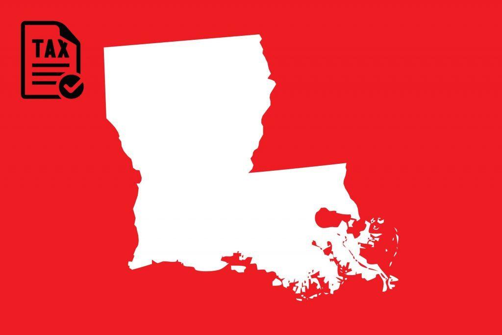best state taxes louisiana
