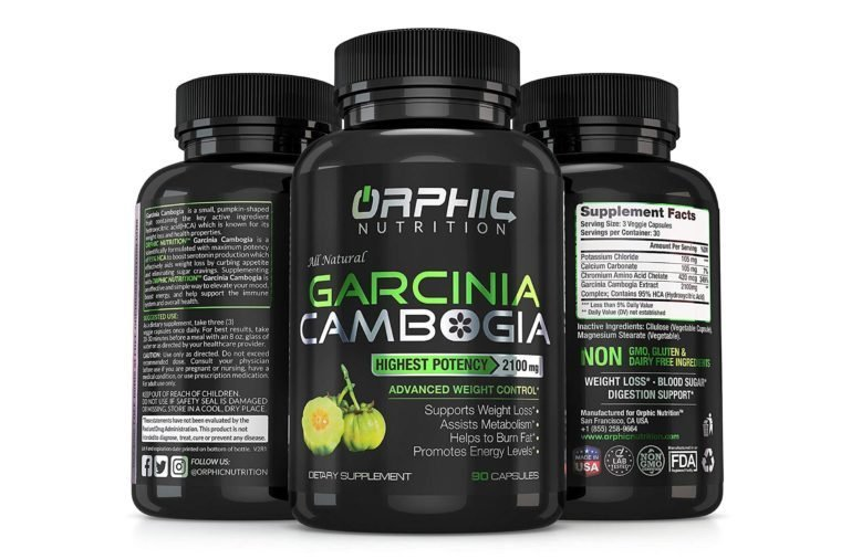 100% Pure Garcinia Cambogia Extract 95% HCA, 2100 mg Capsules | Appetite Suppressant | Non-Stimulating | Weight Loss Pills, Burn Fat & Boost Metabolism, Highest Potency Diet...