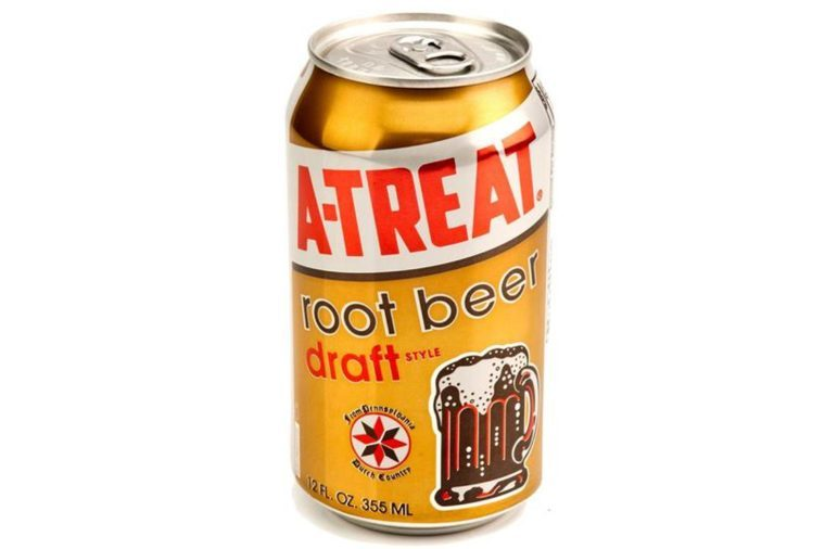 -Treat Cans Root Beer 12oz / 24 pack