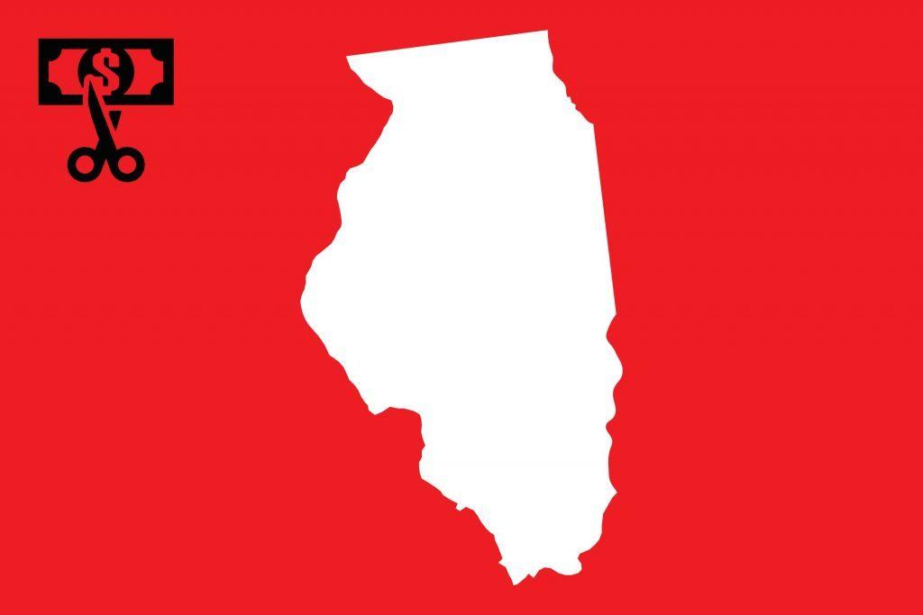 worst state taxes illinois