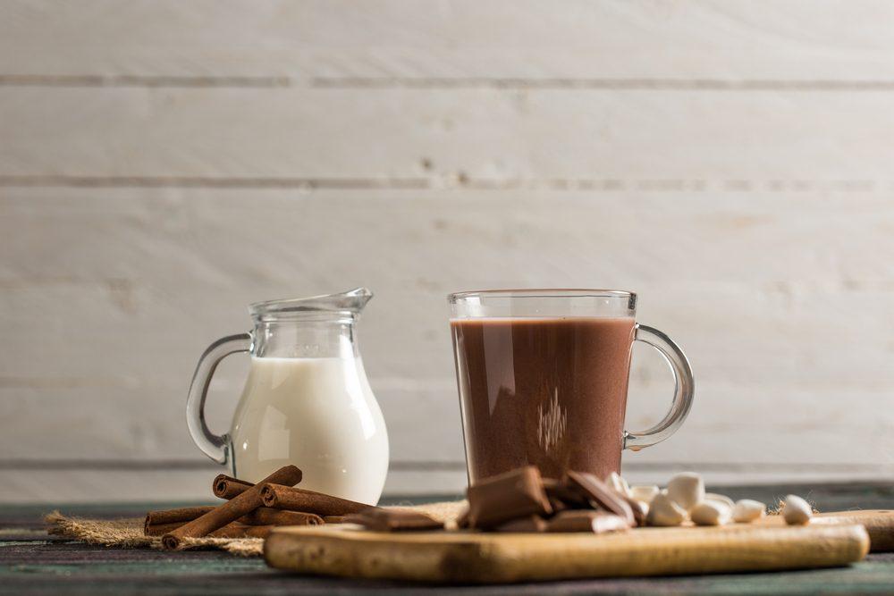 Hot Chocolate and Milk