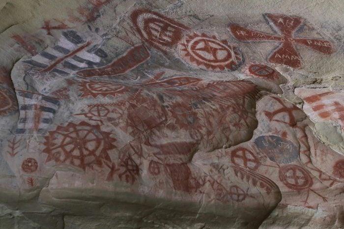 Chumash cave paintings