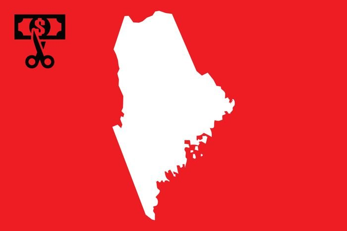 worst state taxes maine