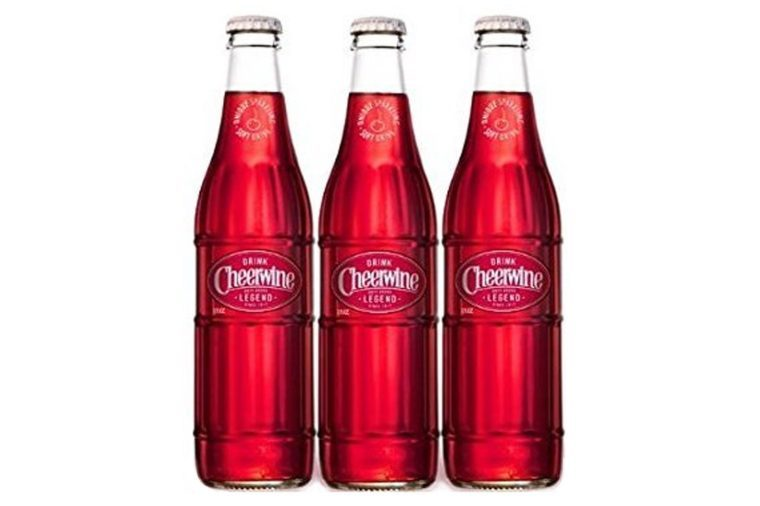 Cheerwine Glass Bottles 12 oz (Pack of 3)
