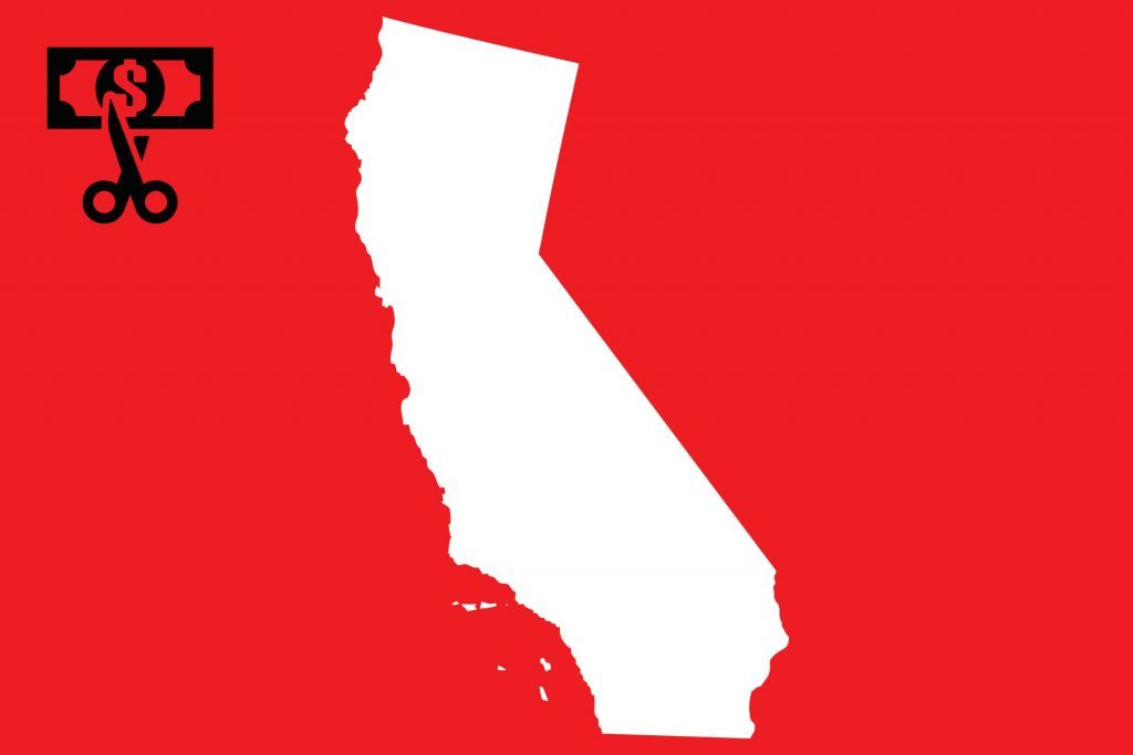 worst state taxes california