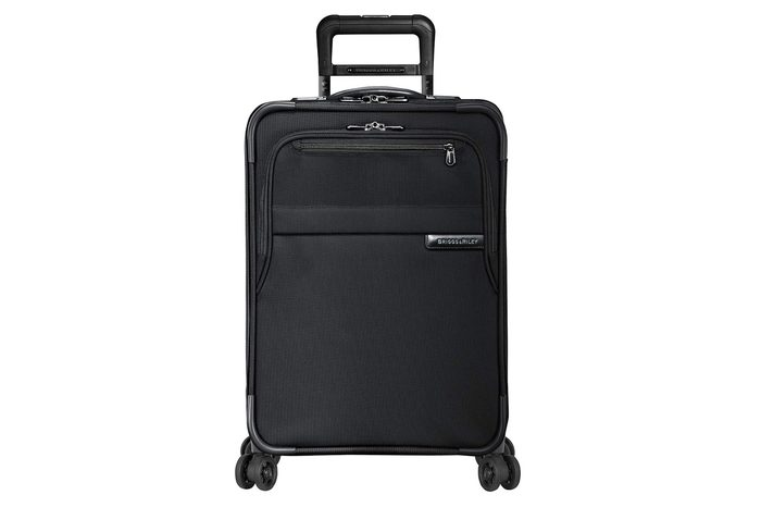 """Briggs & Riley Baseline Domestic Expandable Carry-On 22"""" Spinner, Black"""
