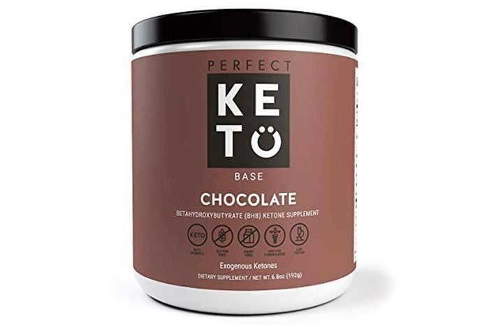 Perfect Keto Chocolate Exogenous Ketones: Base BHB Salts Supplement. Ketones for Ketogenic Diet Best to Support Energy, Focus and Ketosis Beta-Hydroxybutyrate BHB Salt