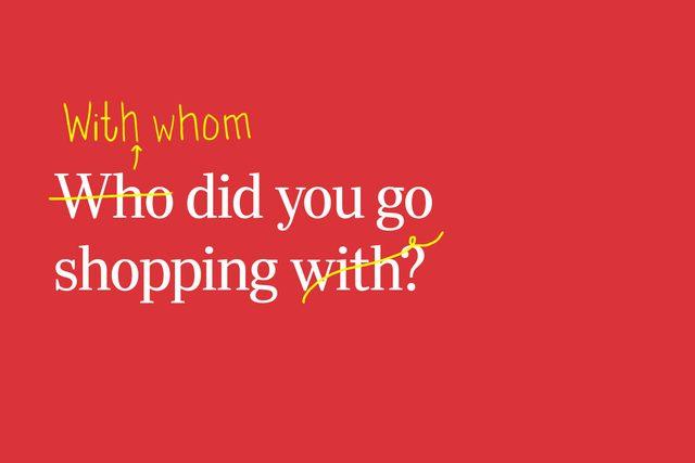 who whom