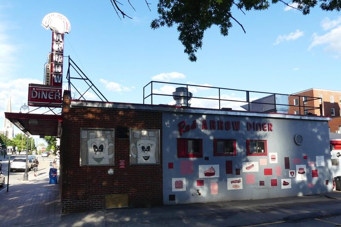 Red Arrow Diner, Manchester