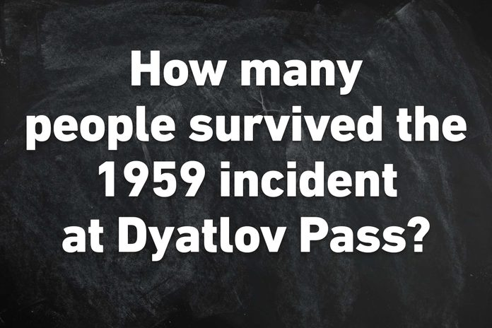 how many survived 1959 Dyatlov pass