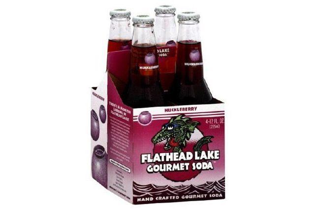 Flathead Lake Gourmet Soda Huckleberry (6x4x12 OZ)