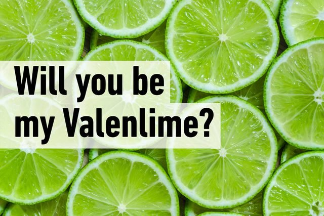 Will you be my Valenlime?