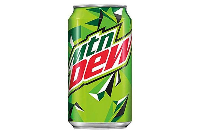 Soda Variety Pack with Mountain Dew, Dew Code Red, and Dew Voltage, 12oz, 18 pack, Net WT 13.5 pound.