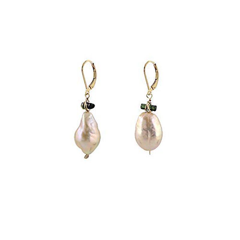 plush pearl earrings