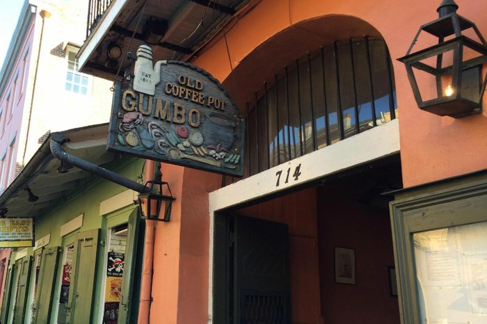 The Old Coffeepot Restaurant, New Orleans