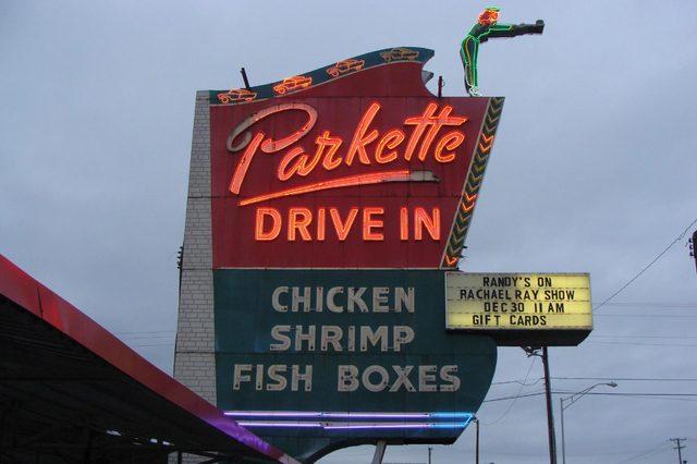 Parkette Drive-In, Lexington