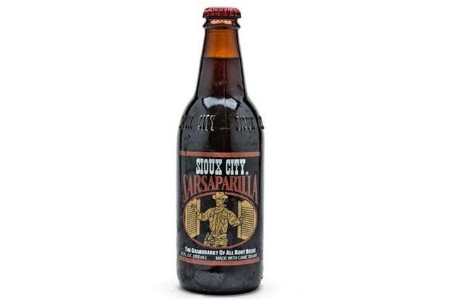 Sioux City Sarsaparilla Soda (6x4pack)