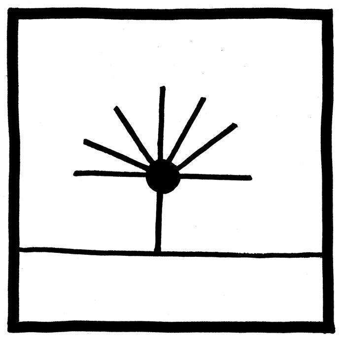 Spider doing handstand