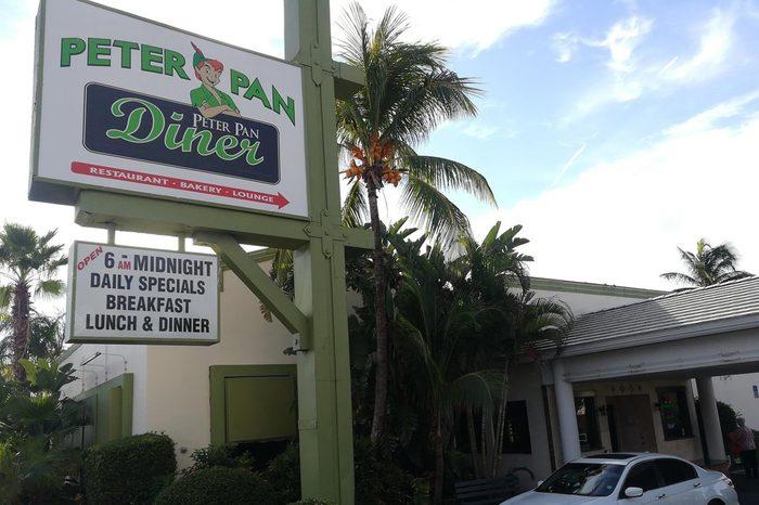 Peter Pan Diner, Fort Lauderdale