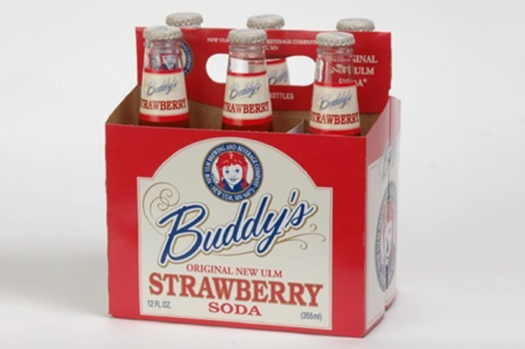Buddy's Strawberry Soda