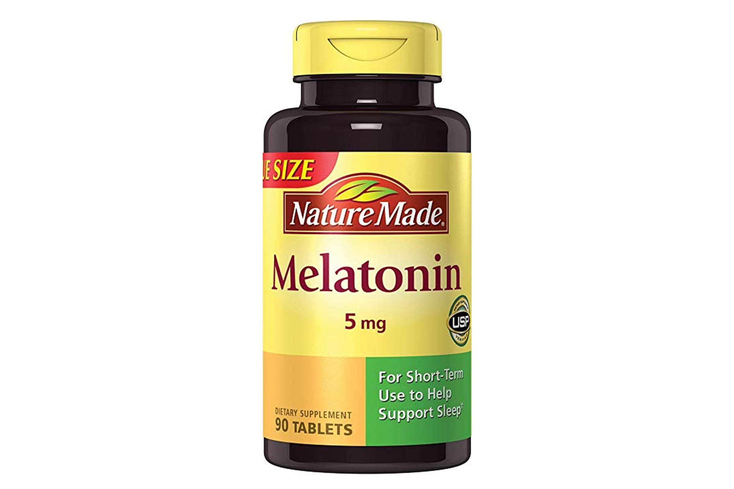 Nature Made Maximum Strength Melatonin 5 mg. Tablets 90 Ct
