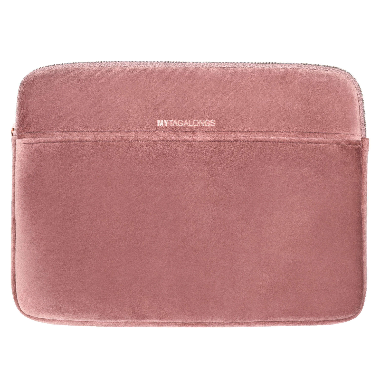 velour laptop case