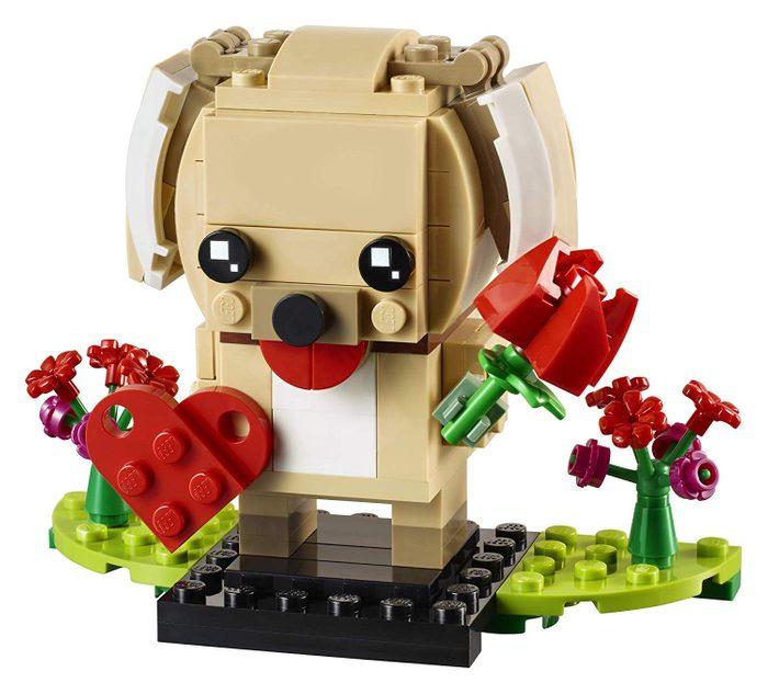 lego valentines puppy