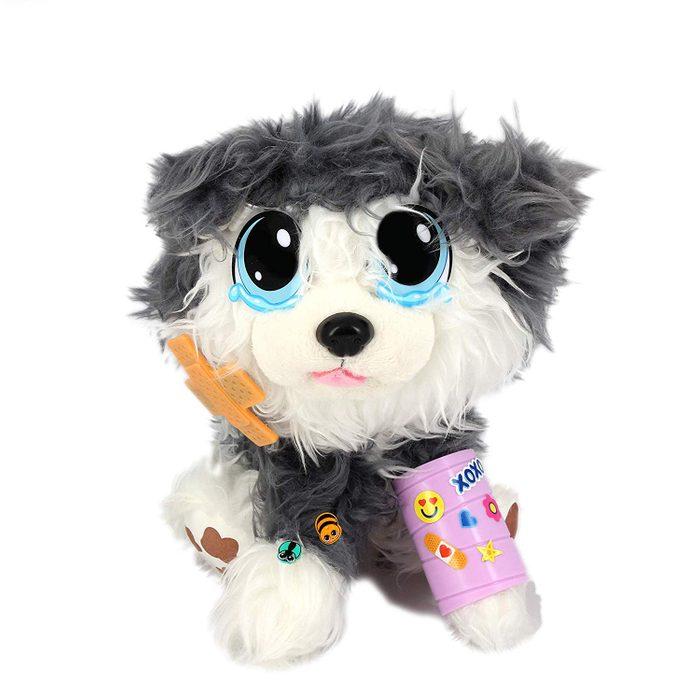 rescue dog stuffed animal