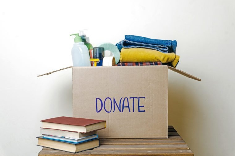 donate boxes