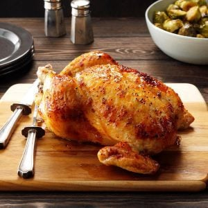 This Surprising Ingredient Makes Roast Chicken So Tender