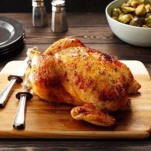 This Surprising Ingredient Makes Roast Chicken So Tender