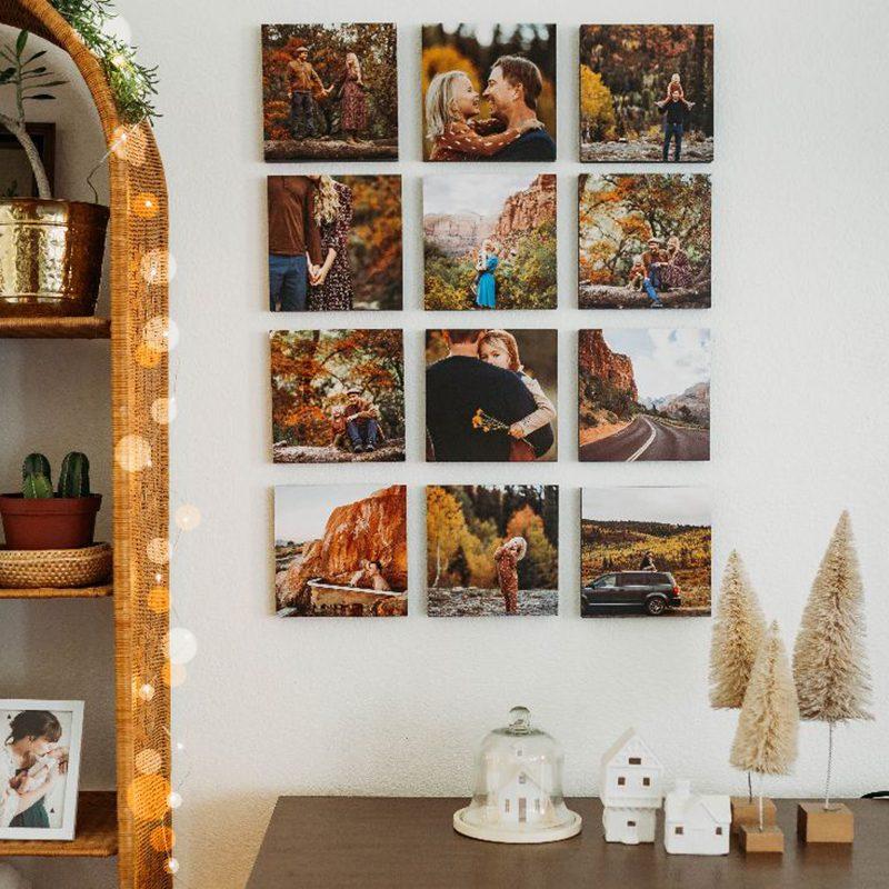 tile phone photos prints