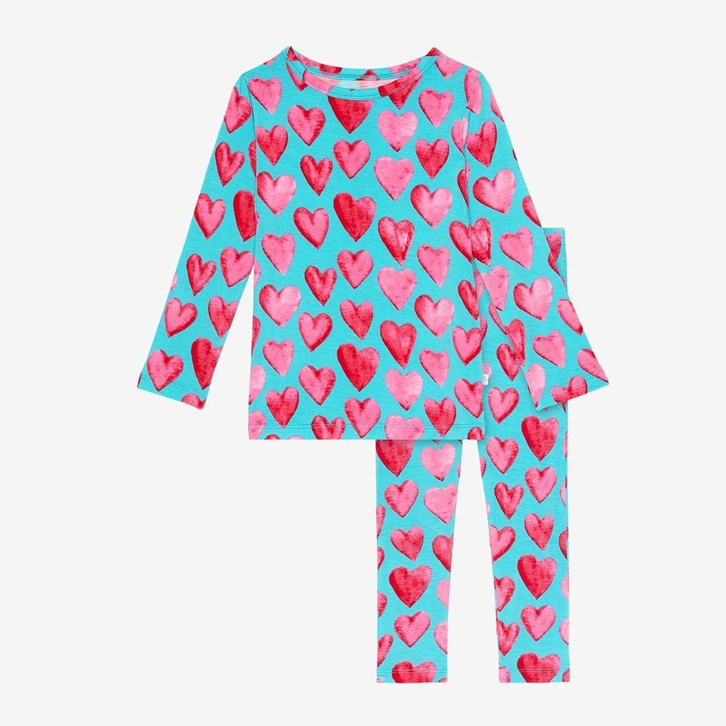 heart pajamas