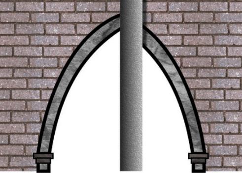 hidden arch illusion