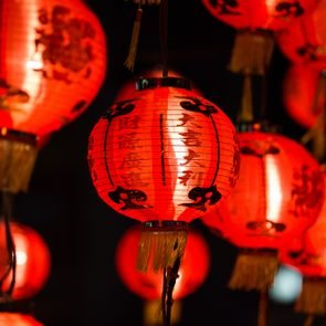 Chinese Lanterns, Chinese New Year.
