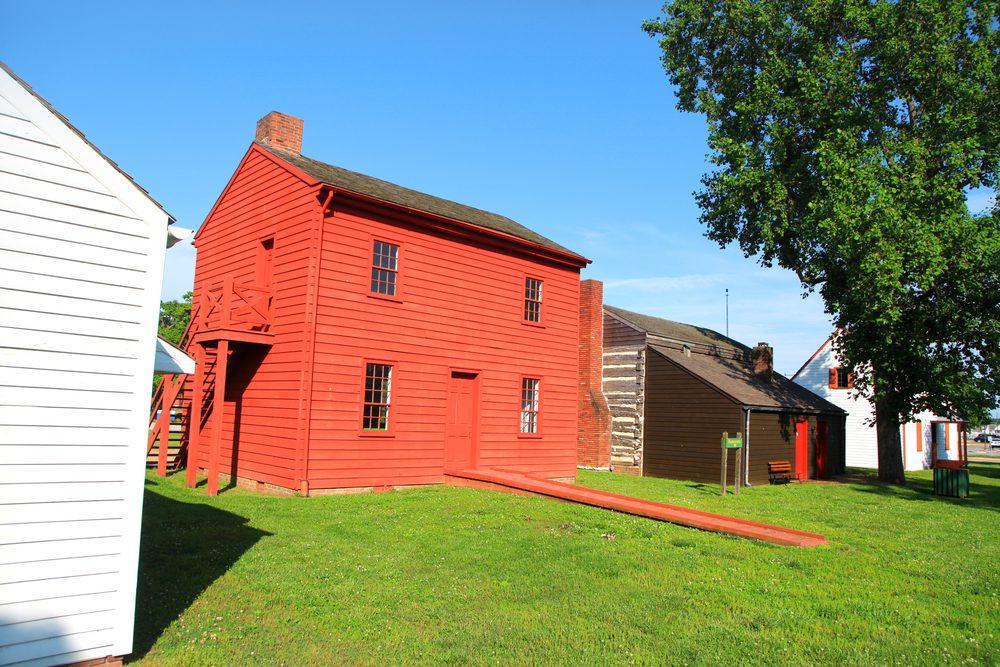 Harrison mansion historic site in Vincennes,Indiana