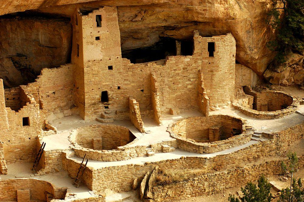 Cliff Palace Kivas Mesa Verde National Park