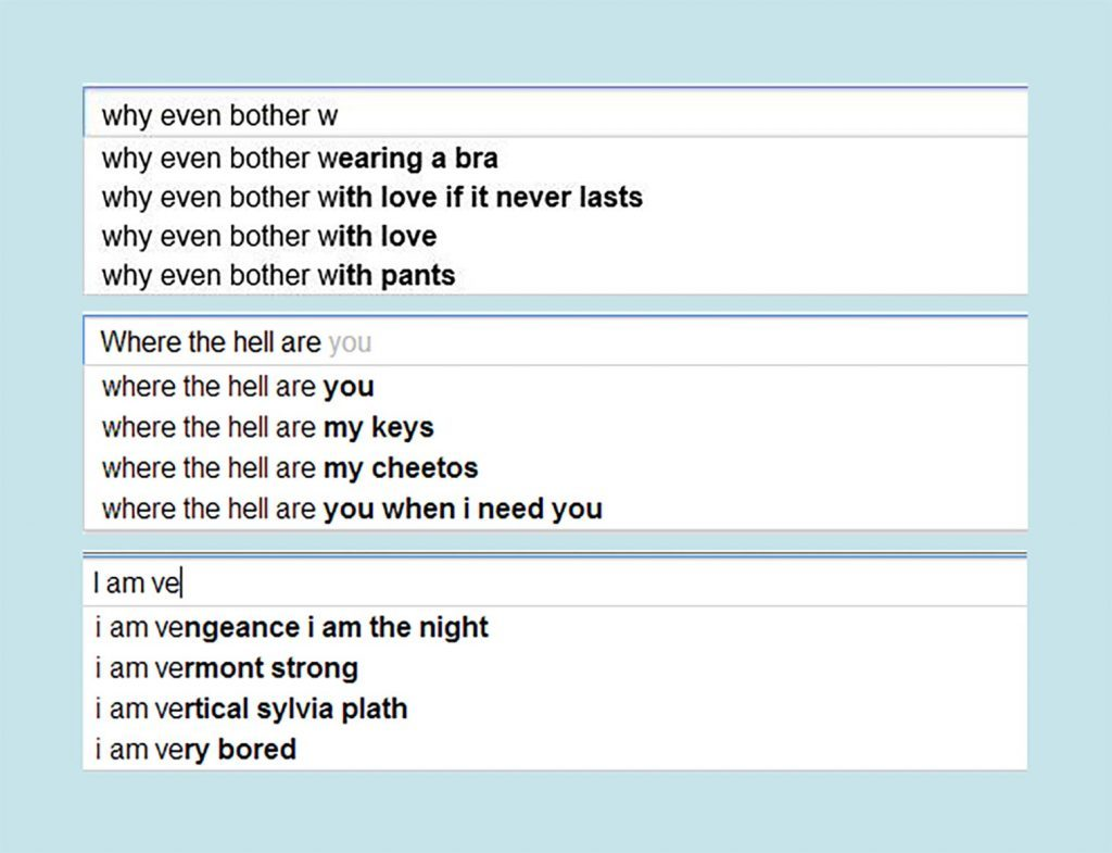 Google search poetry