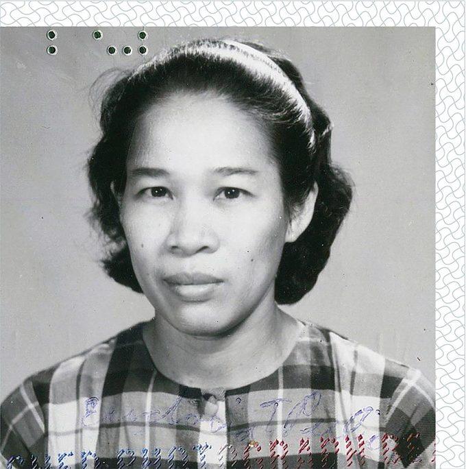Lola's passport photo