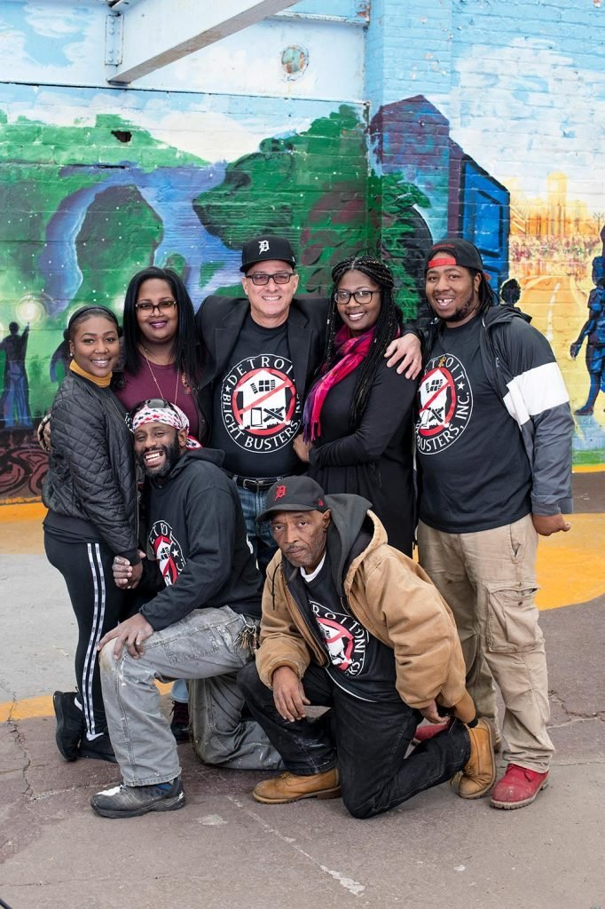 The Detroit Blight Busters, an organization dedicated to reviving the city.