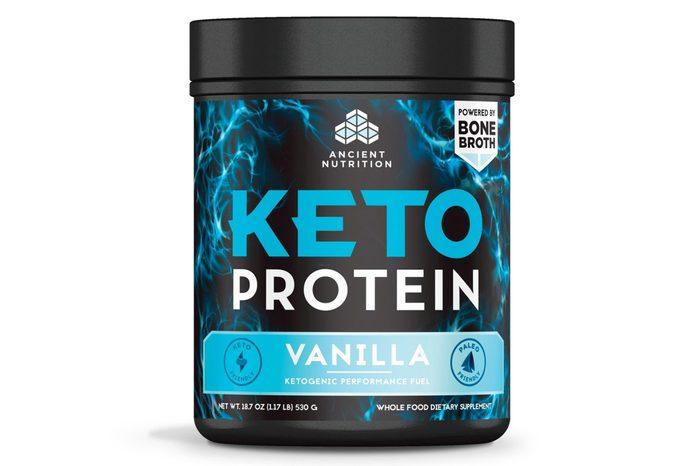 Ancient Nutrition KetoPROTEIN Protein Powder - Vanilla - 18.7oz