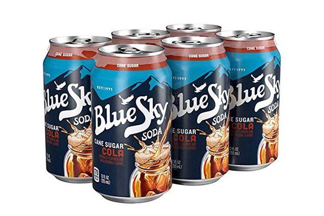 Blue Sky, Soda, Cola, Pack of 4, Size - 6/12 OZ, Quantity - 1 Case